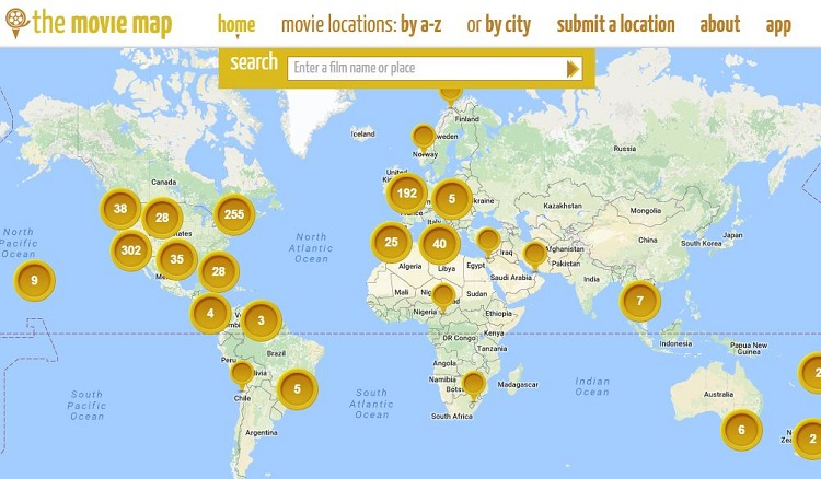 Discover your expat destination through these 8 maps expatfinder 1 live your life right out from a movie gumiabroncs Choice Image